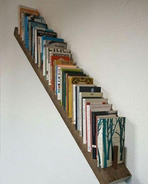 Para você que não tem tantos livros assim, só os preferidos. Dica boa!#inspiração #dagringa #facavocemesmo #diy #maonamassa