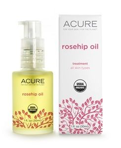 Get healthy flawless skin with Acure Rosehip Oil. This organic skincare is high in fatty acids that revitalizes aged and damaged skin. Buy at Hello Charlie.