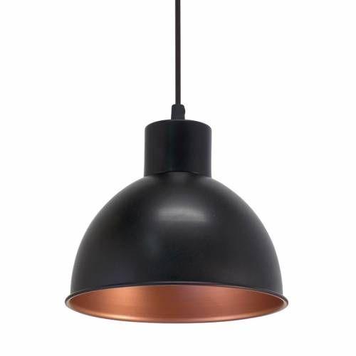 Lampa suspendata neagra Engels