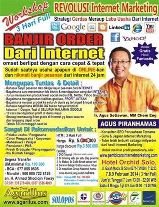 pengamat bisnis onlain, Pembicara bisnis onlain indonesia tlp : 081333841183 (simpati)