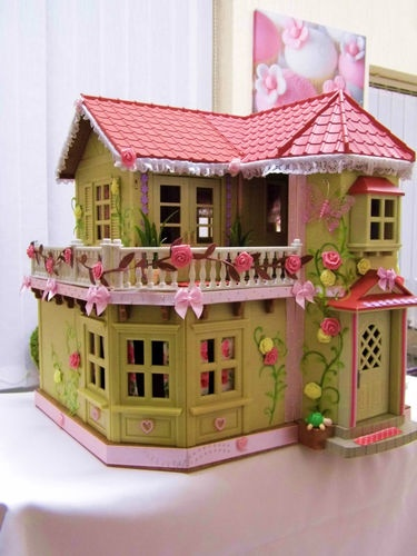 sylvanian families cath kidston decorated , recycled and refurbished house | eBay