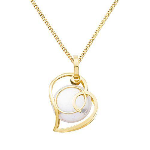 Miore Damen Halskette 9 Karat (375) Gelbgold rhodiniert MA9095 - http://schmuckhaus.online/miore/miore-damen-halskette-9-karat-375-gelbgold-ma9095