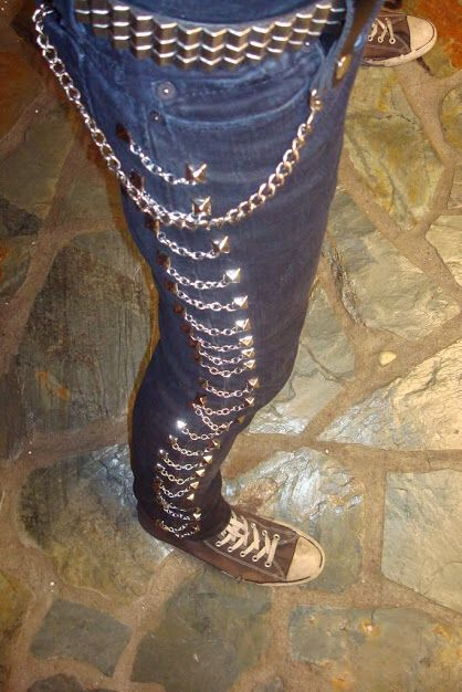 DIY mariachi pants