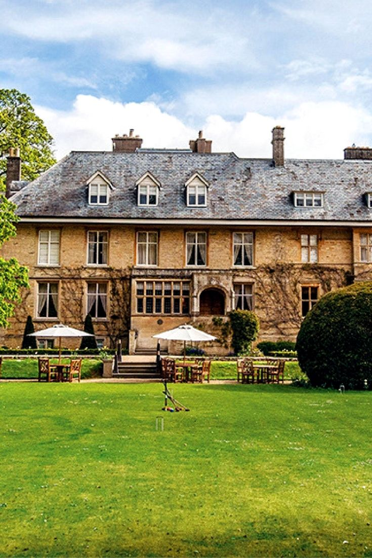 Luxury Hotel in Cotswolds, #England: Formerly named Lower Slaughter Manor, the graciously restored 17th-century Slaughters Manor House estate is tucked behind stone walls in one of England's prettiest villages. Nineteen guest accommodations, many with fireplaces (but no A/C), blend contemporary furnishings with antiques and fine art; most offer views of idyllic countryside and five acres of landscaped gardens. #hideawayoftheday
