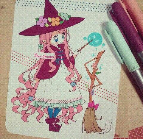 Little and cute witch@ibu_chuan [Instagram]