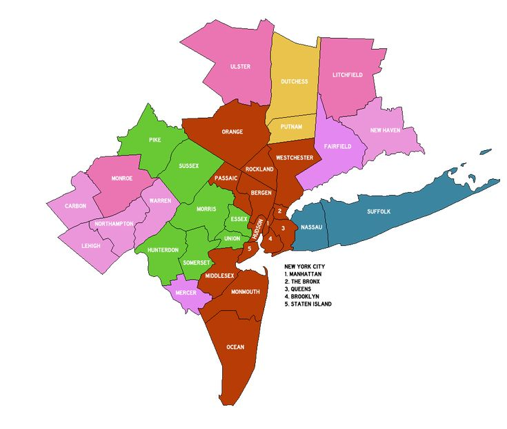 New York Metropolitan Area Counties 2013 - New York metropolitan area - Wikipedia, the free encyclopedia