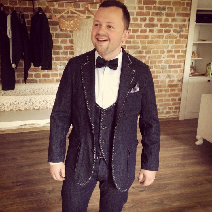 MTM Denims suit @ Bulichev Jeans Atelier