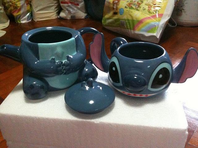 Japan Disney Stitch High Tea Set ~ by Yeeyn, via Flickr