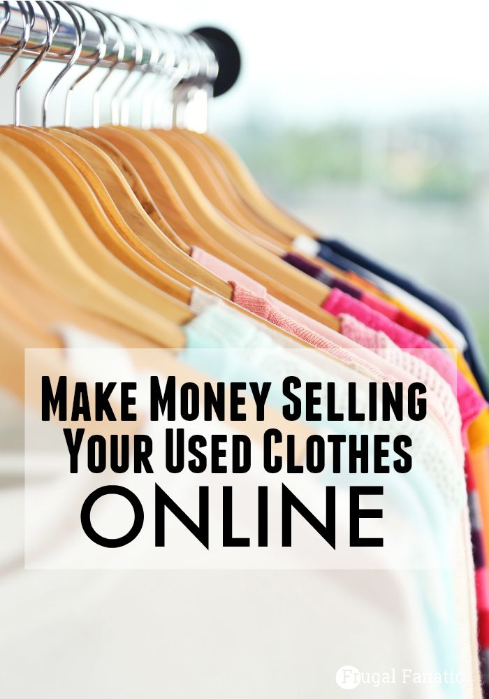 Want to clean out your closet and make money? Check out these sites where you can make money online selling your used clothing.