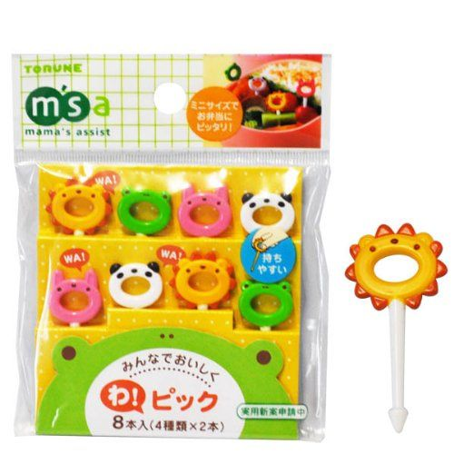 Japanese Bento Accessory Food Pick Cute Animal 8 pcs Torune,http://www.amazon.com/dp/B005LOAILG/ref=cm_sw_r_pi_dp_V4Ditb0Z6SB47WGN