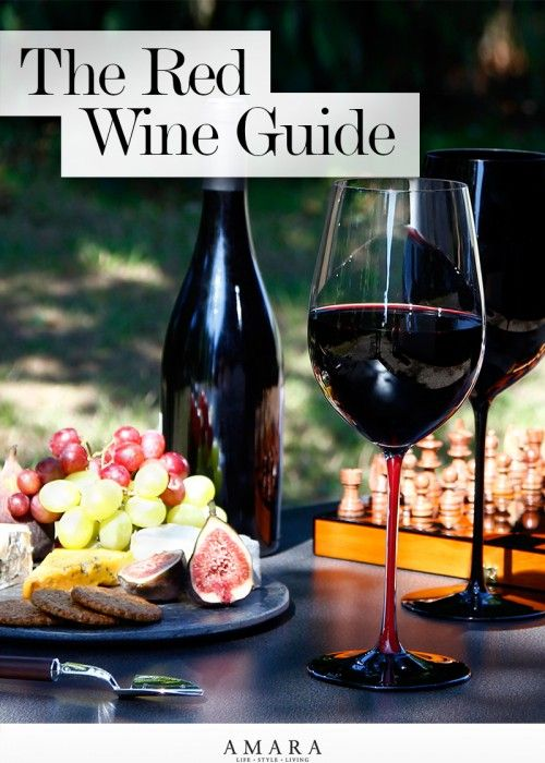 The LuxPad | Red Wine Guide, vineyard, wine, wine glasses, decanter