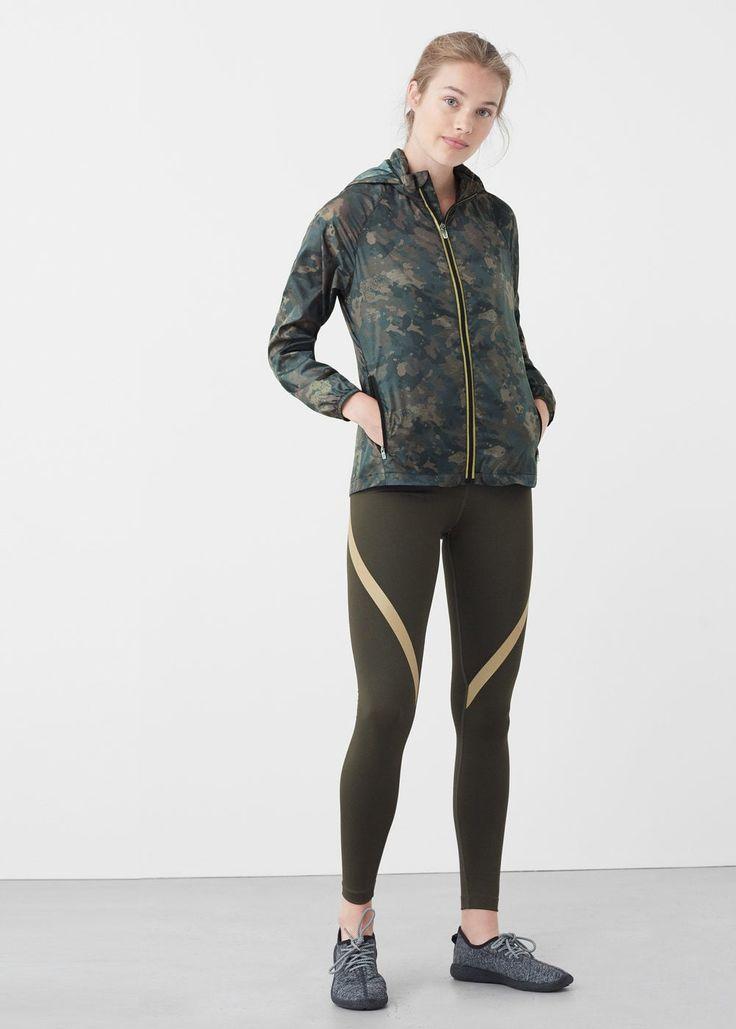 Slimming effect leggings | MANGO