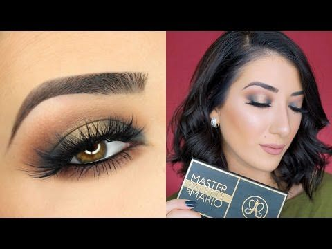Colorful Halo Smokey Eye | Anastasia Beverly Hills Master Palette by Mario