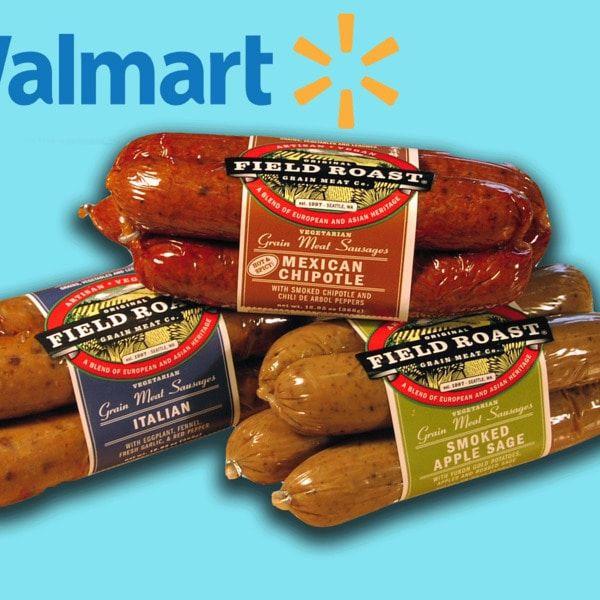 Vegan Brand Field Roast Expands To 330 Walmart Stores Across Canada Field Roast Vegan Brands Vegan Sausage