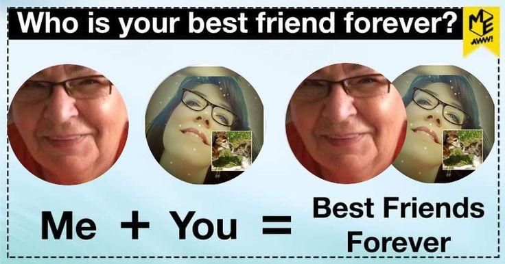 Vy a váš nejlepší přítel, jsou neoddělitelné.  Jste blízko sebe a mají nejdivočejší časů dohromady.  Dáváte přednost visí ven s sebou a mají vnitřní vtipy, které jsou k popukání.  Sdílet se svými přáteli a dejte jim vědět, co dělá vaše přátelství tak opravdu velkolepý.