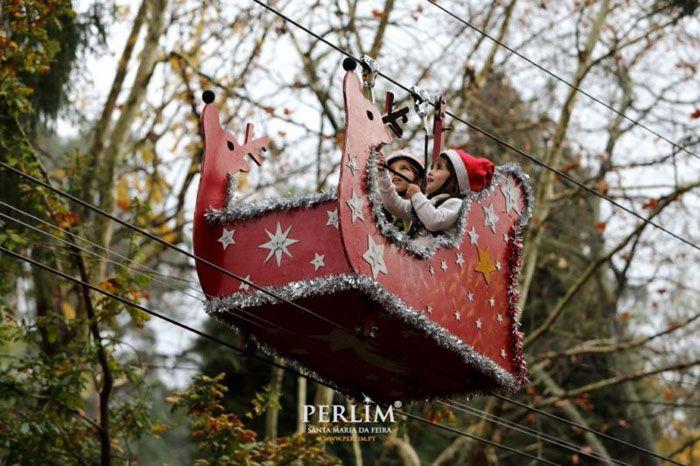 Parque temático de la Navidad en Portugal