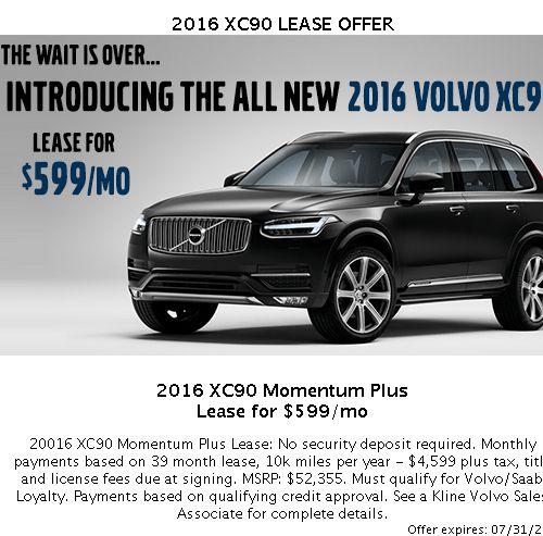 Kline Volvo New Specials | New Volvo dealership in Maplewood, MN 55109