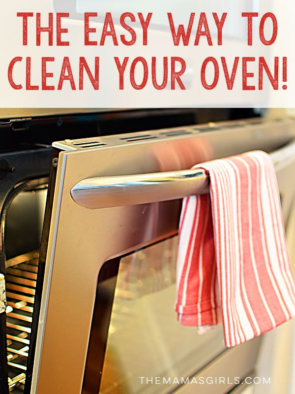 The Best Way To Clean Your Oven Clean Up Clean Up