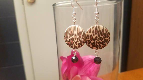 Go Wild leopard print earrings animal print Diva earring  #leopardprint #earrings