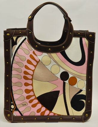 love this vintage PUCCI tote....