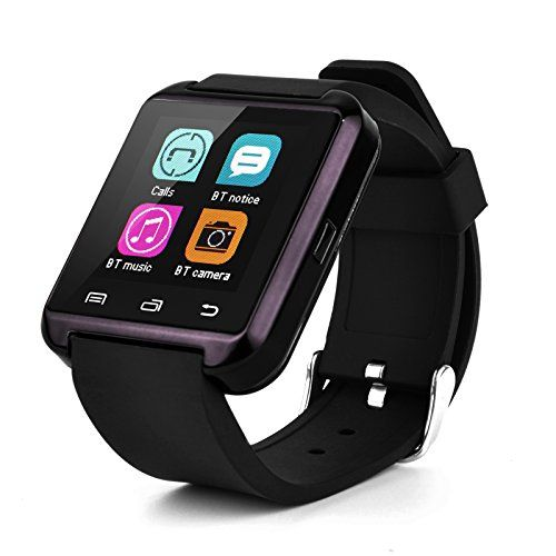 Swees® U8 Bluetooth Smart Watch Inteligente Reloj Teléfono Compañero para Android IOS Iphone Samsung Galaxy HTC,Sony (Negro) - http://www.tiendasmoviles.net/2016/01/swees-u8-bluetooth-smart-watch-inteligente-reloj-telefono-companero-para-android-ios-iphone-samsung-galaxy-htcsony-negro/