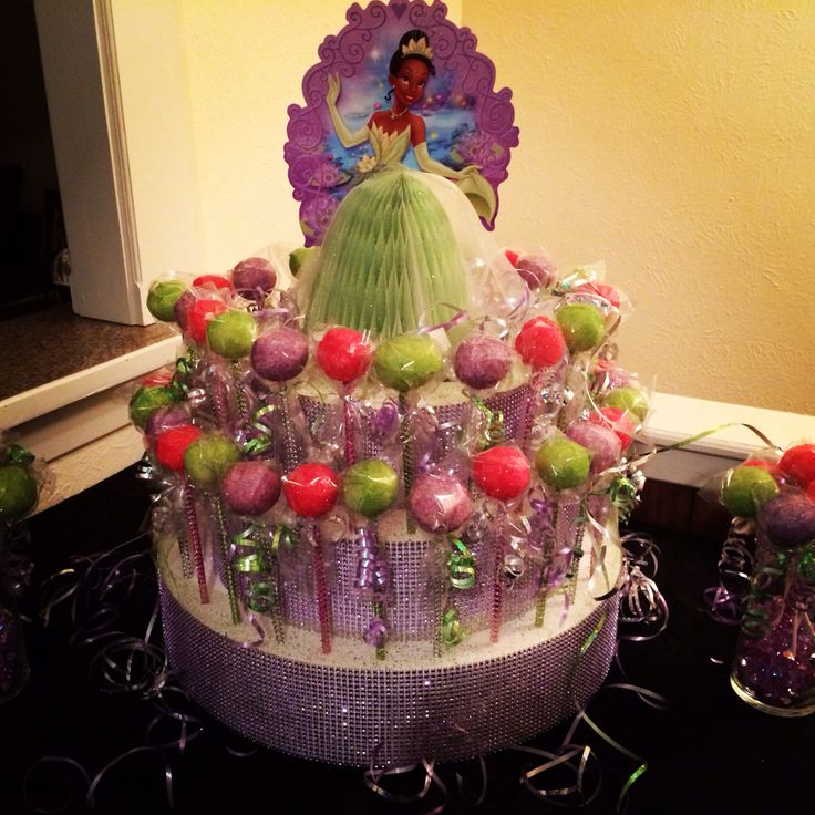 Princess Tiana Cake Pop Order My Skill Set Pinterest