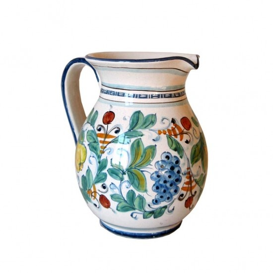 Jug 1 litre height 8 inch, made in Italy  http://www.artesiaceramica.it/ceramiche-en-543-jug-1-litre.html