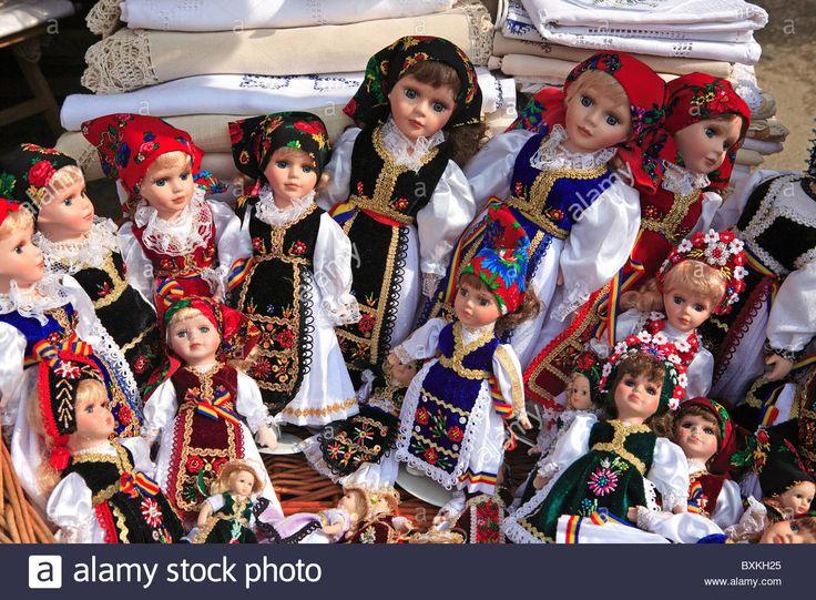Romania, Transylvania, Traditional Dolls For Sale Stock Photo, Royalty Free Image: 33621901 - Alamy