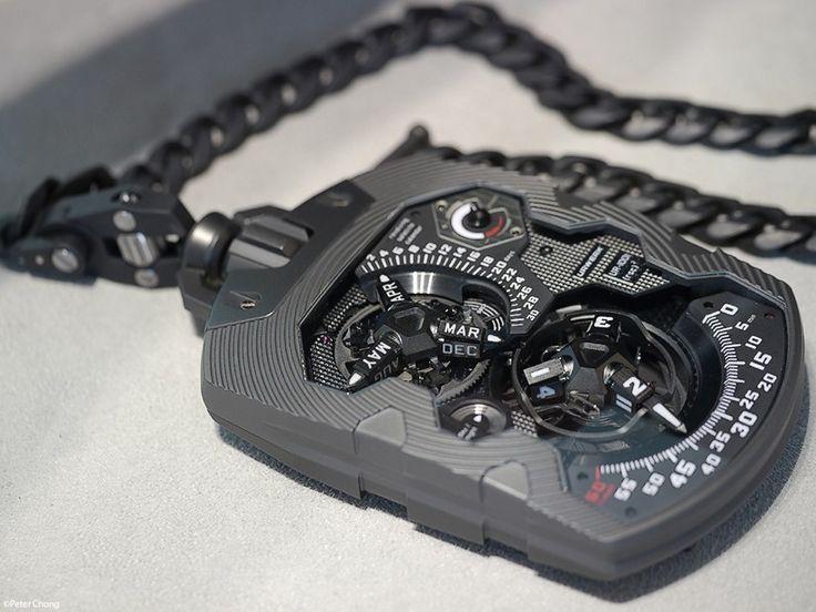 UR-1001 Zeit Device  Pocket Watch