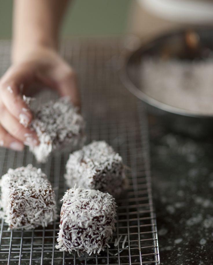 Lamingtons | Cakey-Coconut Dessert