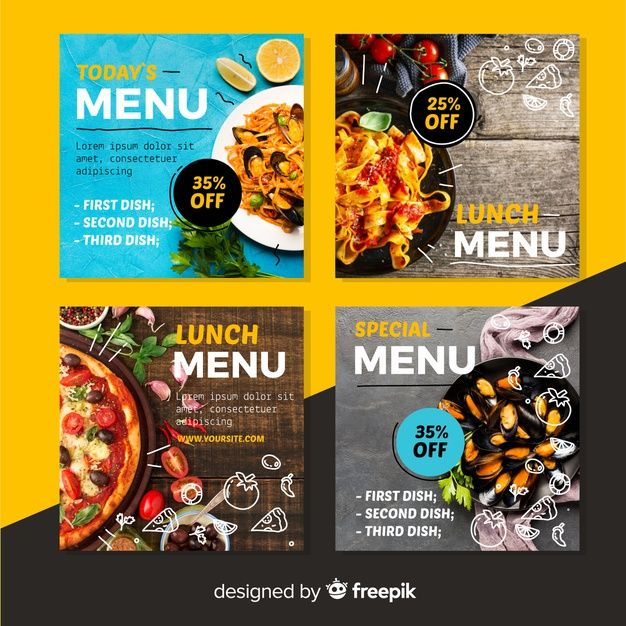 Download Culinary Instagram Post Collection With Photo For Free Instagram Food Food Poster Design Food Graphic Design