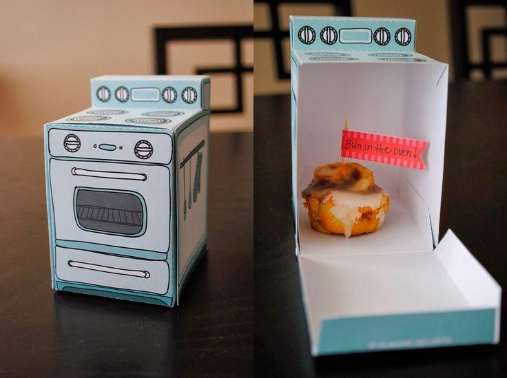 Bun in the Oven - Pregnancy Announcement idea