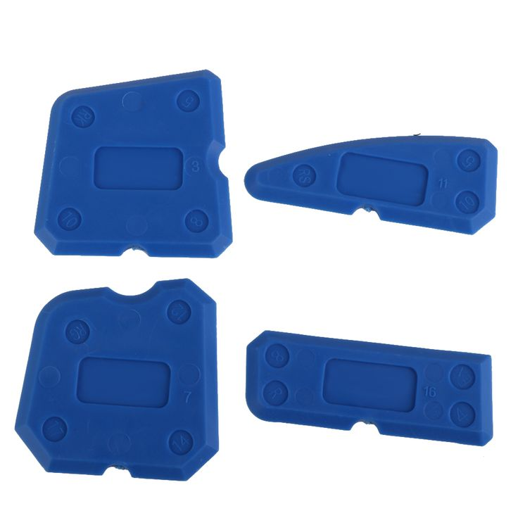 New Hot Caulking Tool Kit Joint Sealant Silicone Grout Remover Scraper 4PCS Blue Hand Tools Combination with Case Free Shipping //Price: $4.00 & FREE Shipping //     #hashtag1