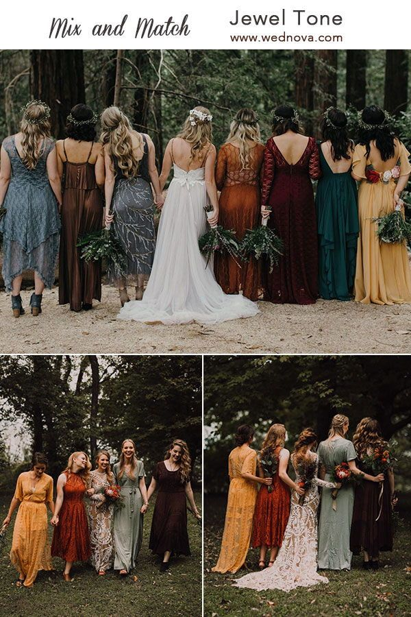 Mix and Match Bridesmaid Dresses Done Right: 7 Ways to Rock the Trend!