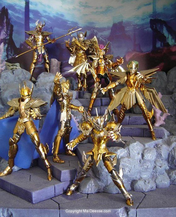 Kassa generaux poseidon myth 560 690 myth cloth saint seiya pinterest saint - Decor saint seiya myth cloth ...
