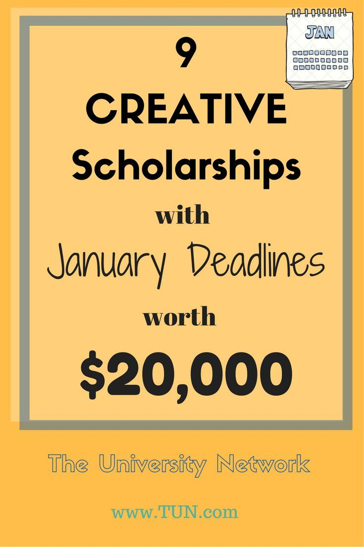 Get into the habit of applying to as many scholarships as possible (but do so strategically) so you can get some extra cash for school!