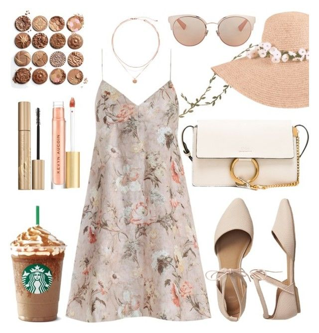 """129. Heat Wave"" by coeurdalenee on Polyvore featuring Christian Dior, Zimmermann, Chloé, Gap, Kevyn Aucoin and Stila"
