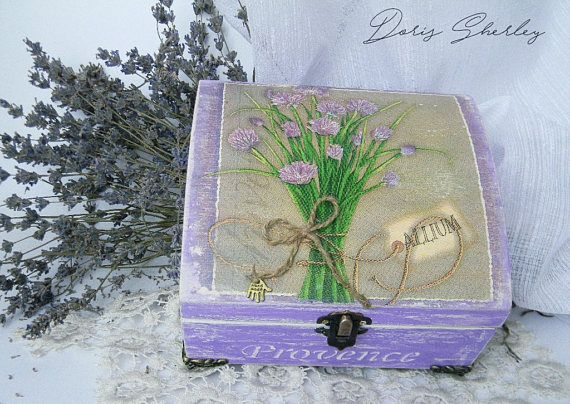 JEWELRY BOX PROVENCE gift for her girlfriend gift gift for