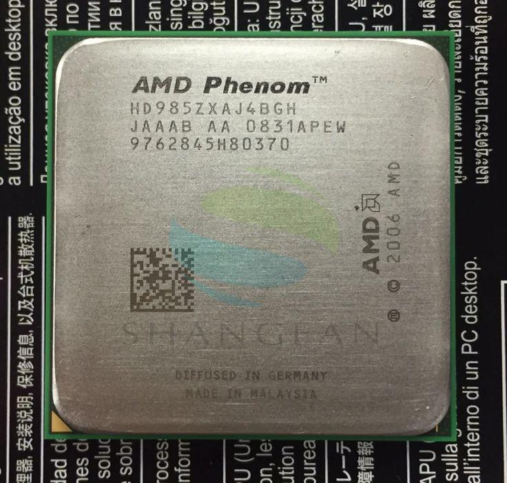 AMD Phenom X4 9850 HD985ZXAJ4BGH HD9850WCJ4BGH  Quad-Core DeskTop 2.5GHz CPU Socket AM2+/940pin