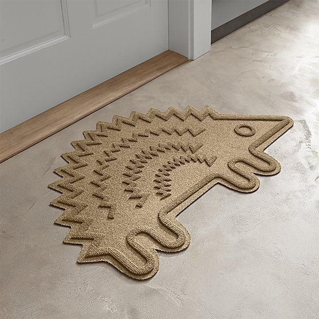 Hedgehog Doormat | Crate and Barrel