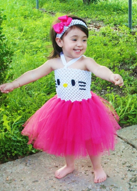 Hello Kitty Tutu Dress - Toddler on esty.com