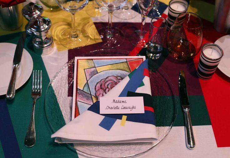 Así lucía la mesa de la bella Carlota de Mónaco en la gala del Baile de la Rosa que cumplió 60 años.