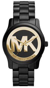 MICHAEL Michael Kors MK6057 Black Runway Watch - 41% Off Retail - Tradesy