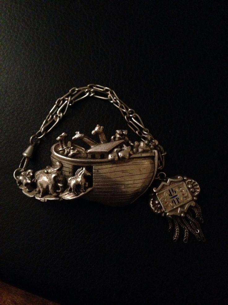 Noahs ark antique bracelet