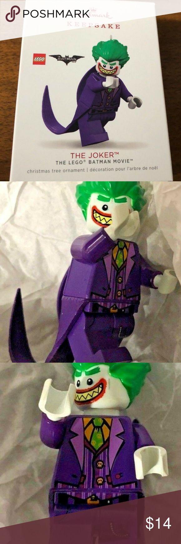 Hallmark The Lego Batman Movie The Joker Ornament Laugh ...