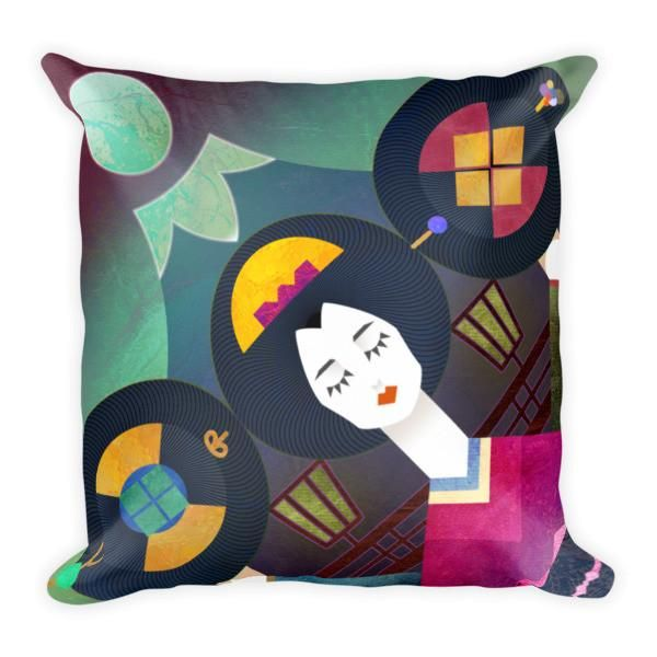 Shapes of Mikado Pillow