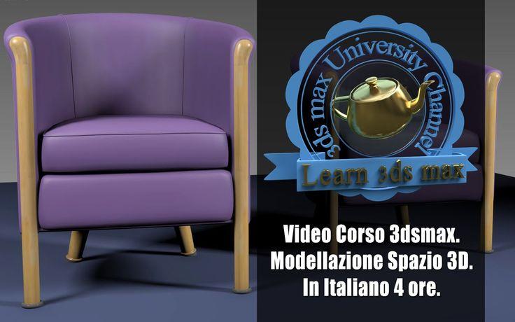 Video Corso Autodesk 3ds max: Modellazione Lo Spazio 3D