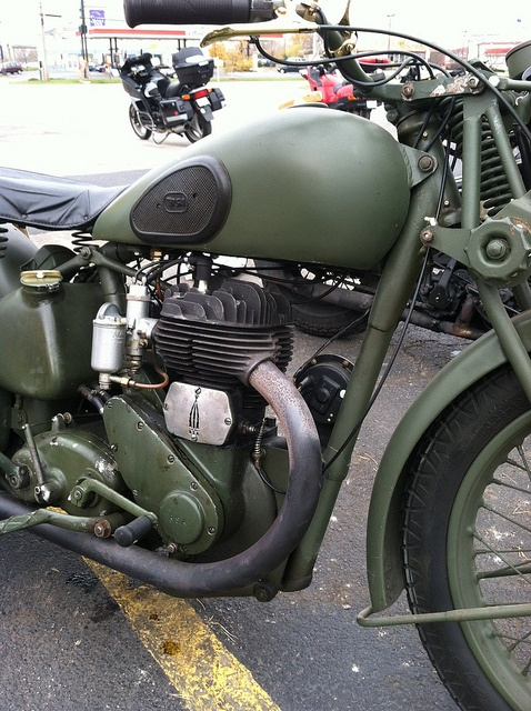 BSA Army motorcycle