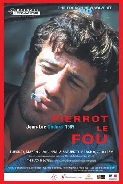 Jean-Luc Godard's - Pierrot le fou  http://mubi.com/films/pierrot-le-fou