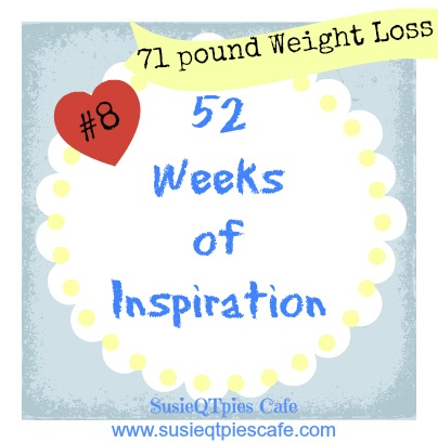 Healthy Lifestyle Journey and 71 pound weight loss  from SusieQTpies Cafe